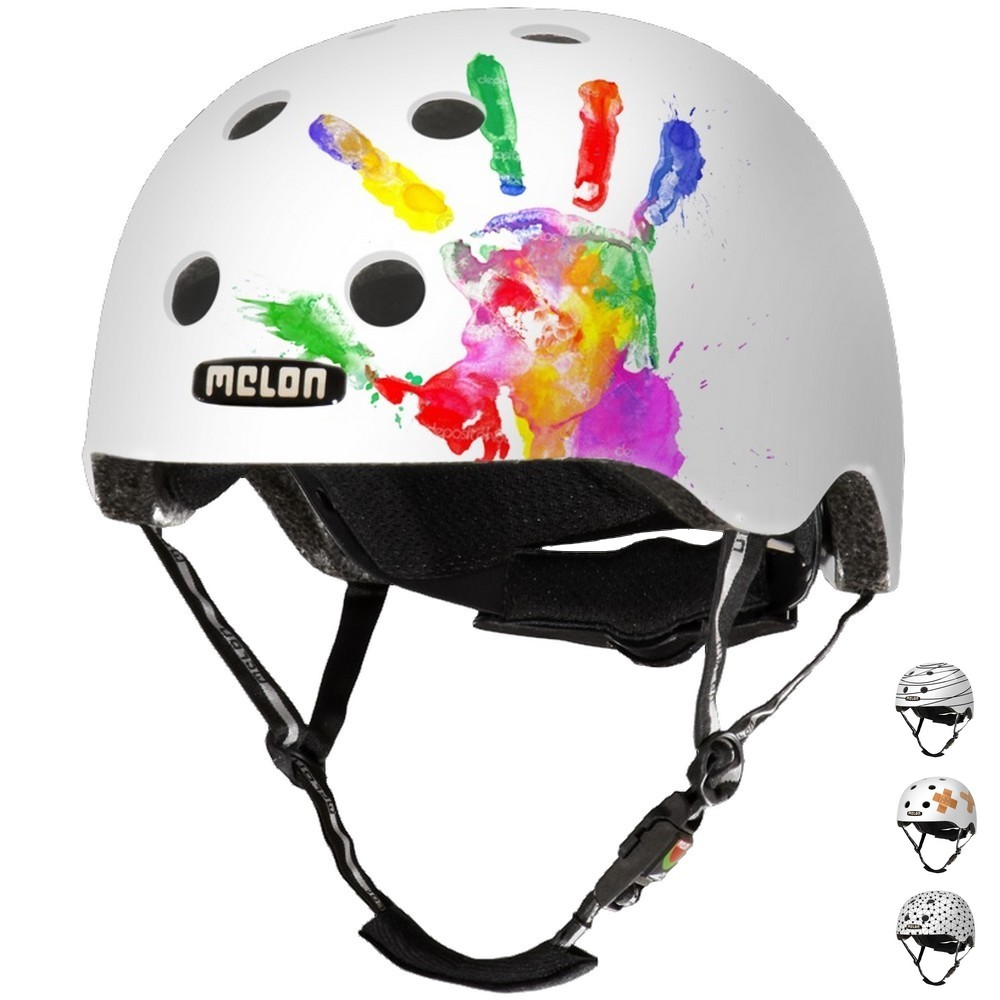 Casque Melon Real Story Handprint