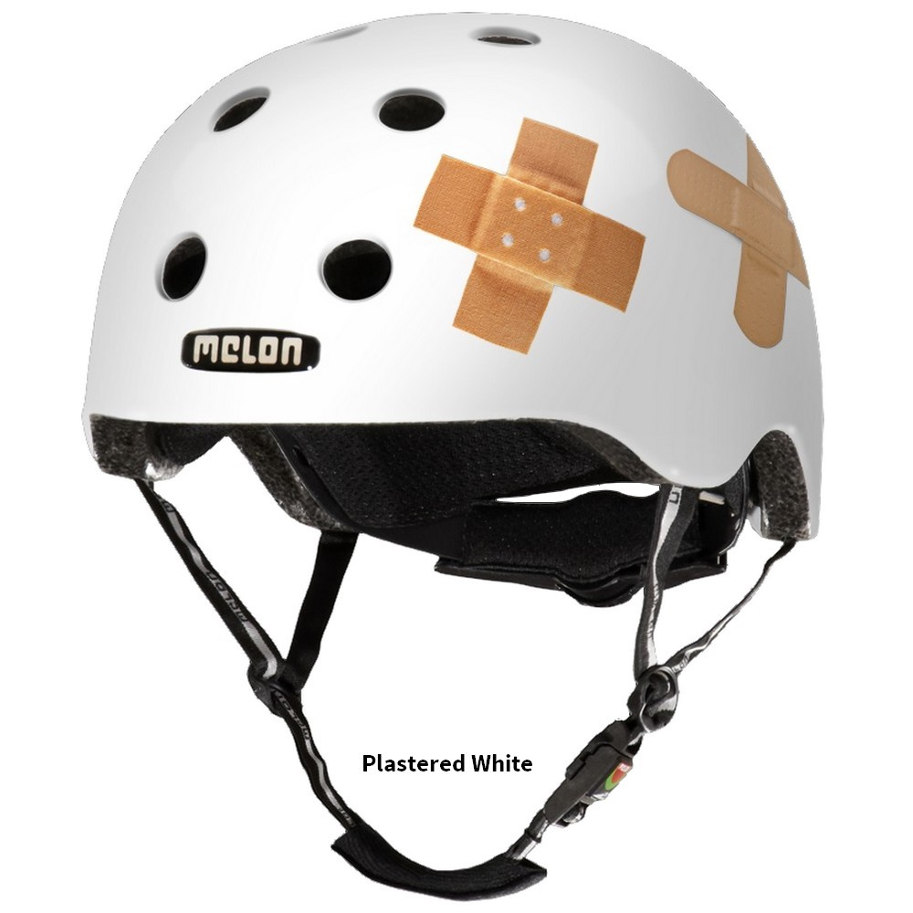 Casque Melon Real Story Plastered White