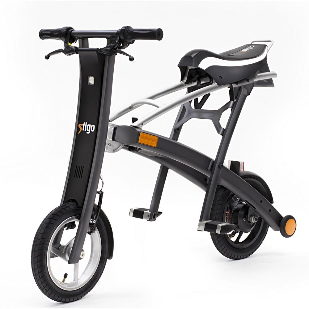 v lo pliable lectrique l ger stigo e scooter pliant. Black Bedroom Furniture Sets. Home Design Ideas