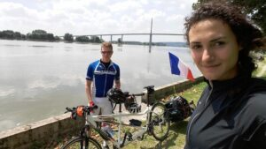 Coralie et Samy sur leurs étapes de Beauvais Rouen