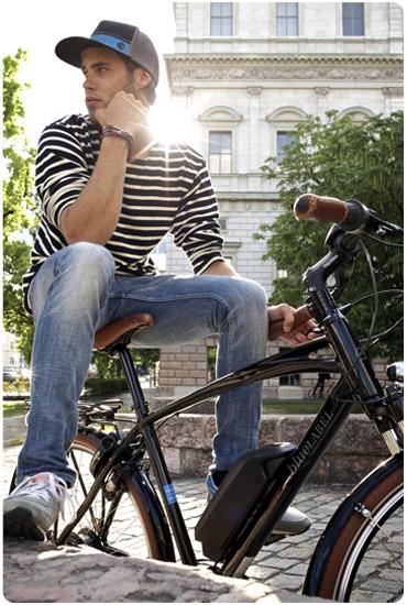 Découvrez les vélos électriques de la marque Bluelabel