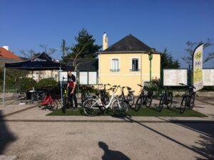 La fête du vélo de Nantes 2016 stand Bike Center et Greenmarks