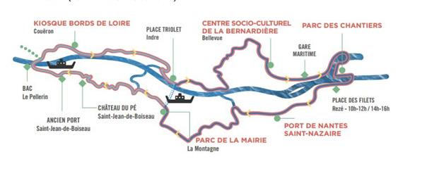 Fête du vélo 2016 de Nantes à Couëron