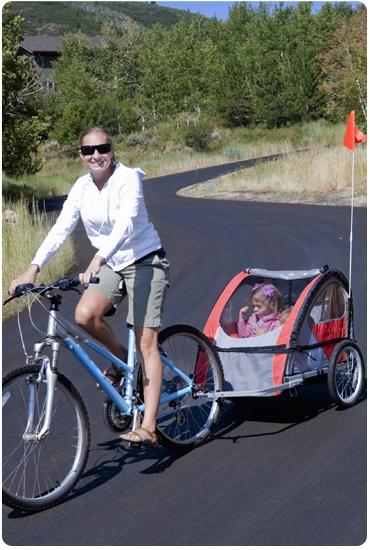 Découvrez les remorques pour vélos Greenmarks