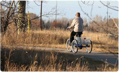 Découvrez les tricycles adultes Greenmarks