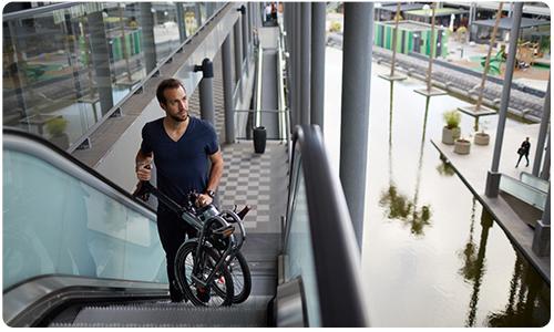 Découvrez les vélos pliants Greenmarks