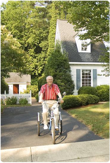 Découvrez les vélos 3 roues Greenmarks