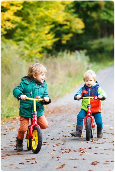 L'apprentissage du vélo avec les cycles Greenmarks