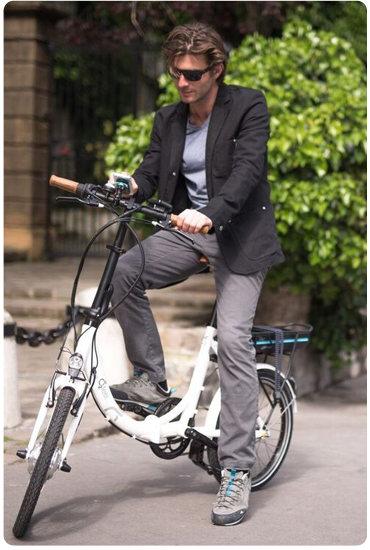 Découvrez les vélos pliants électriques Greenmarks.