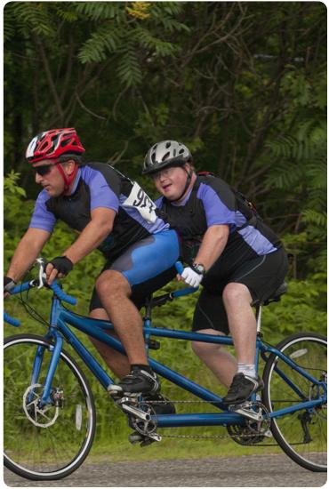 Découvrez nos vélos tandem