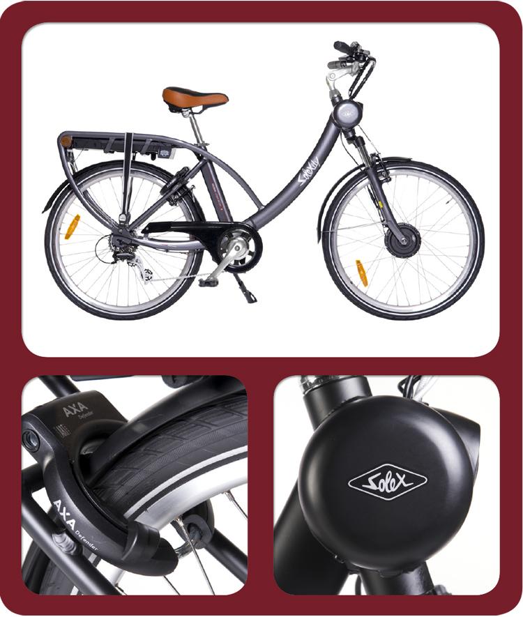 Vélo électrique Solex Solexity Comfort D8