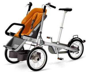 Transformer un vélo en poussette Taga Bikes