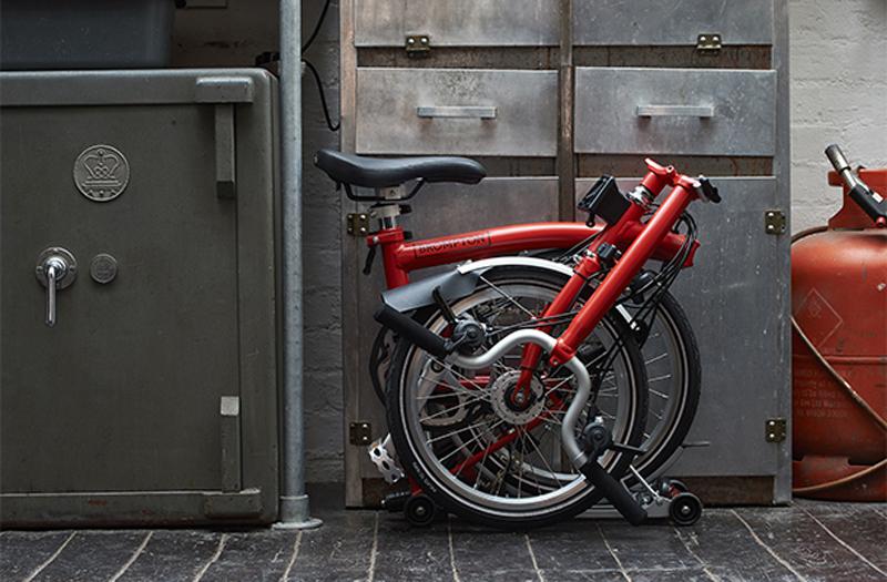 Vélo pliant compact et léger Brompton