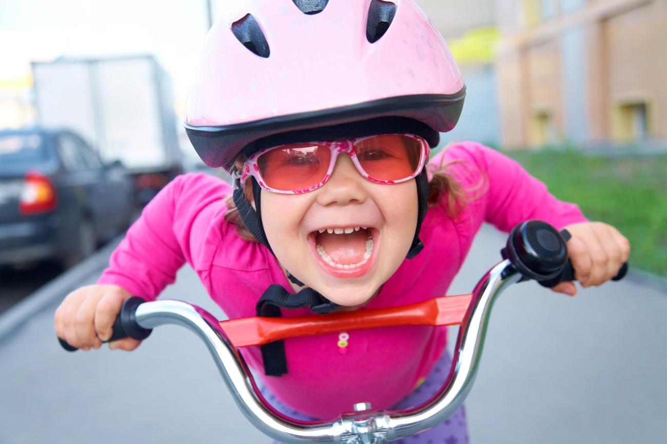 Casque obligatoire à vélo pour les enfants