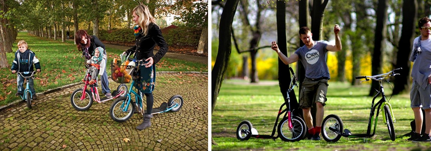La trottinette : un mode de transport alternatif et original