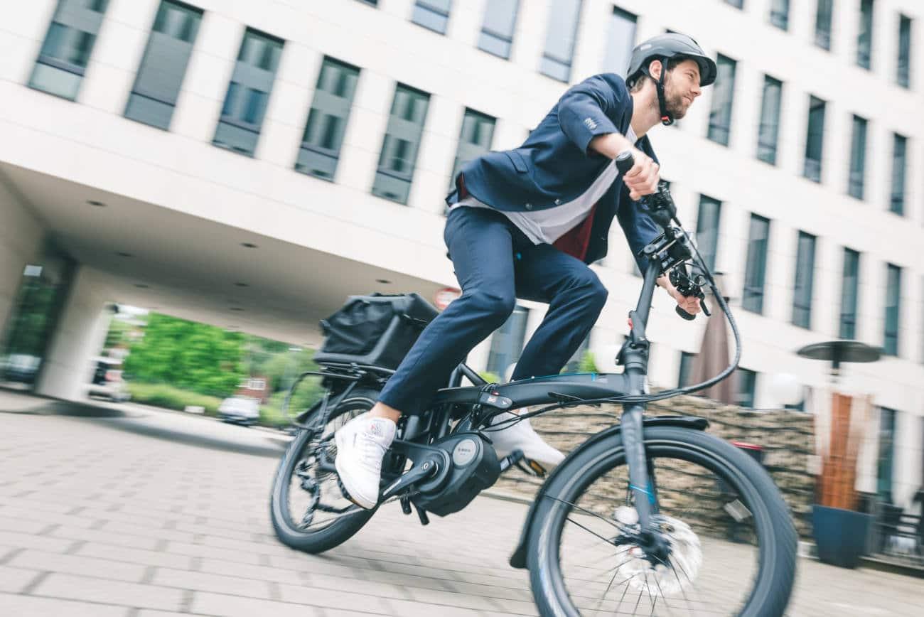 Vélo pliant électrique moteur central Bosch Tern