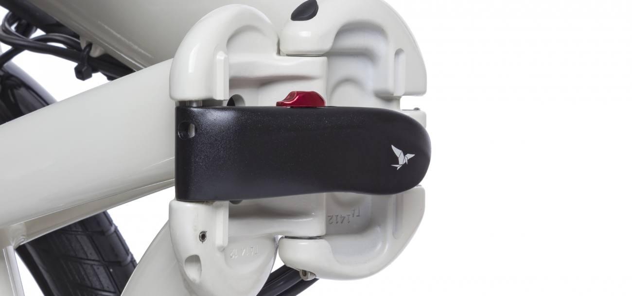 Vélo pliant avec charnières de qualité : conception Tern
