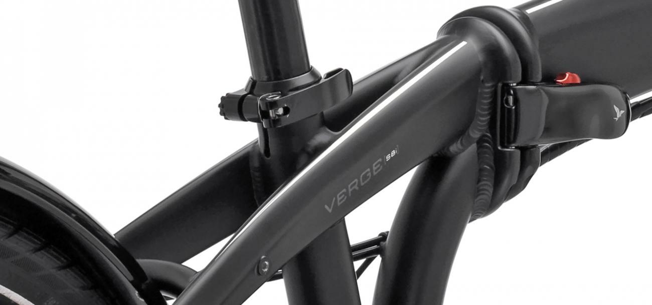 Vélo pliant Tern avec cadre ultra-solide