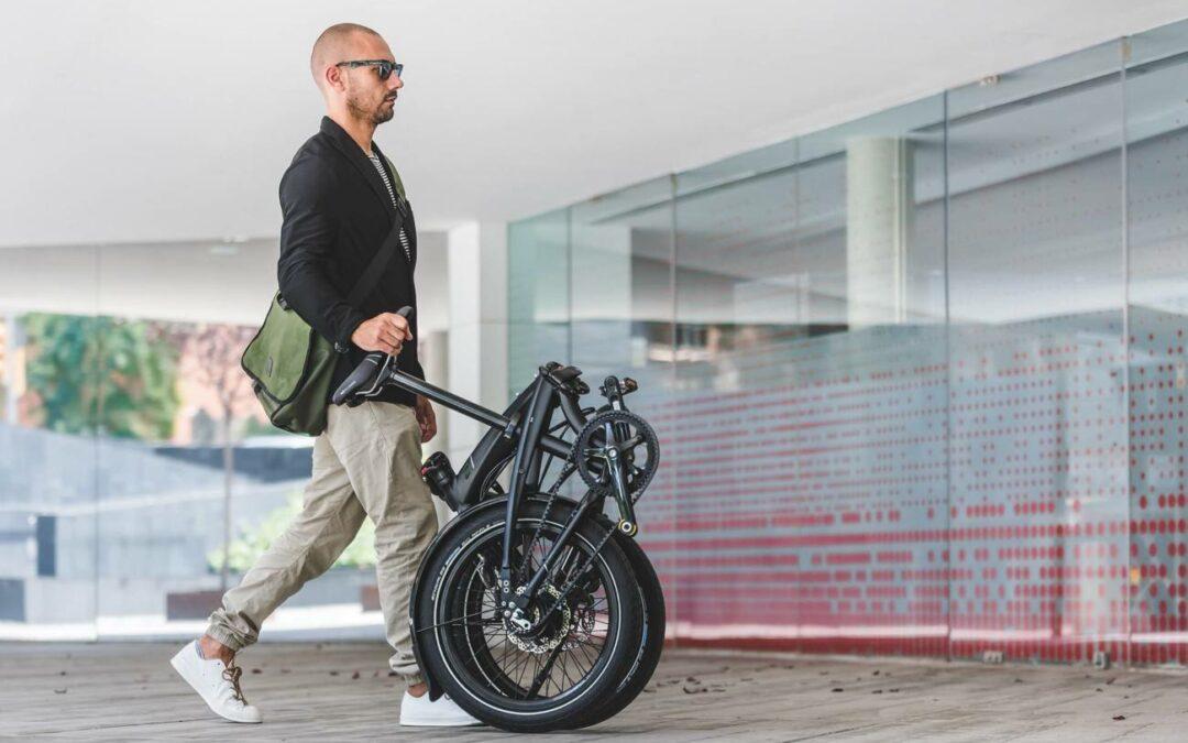 Les vélos pliants et les transports en commun
