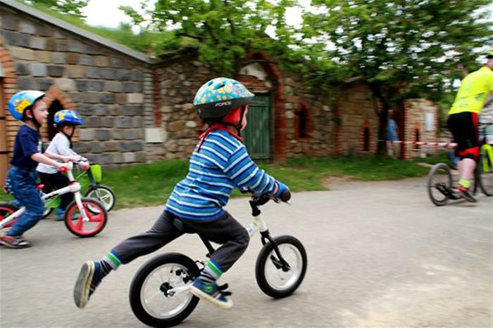 Draisienne apprendre à faire du vélo sans pédale
