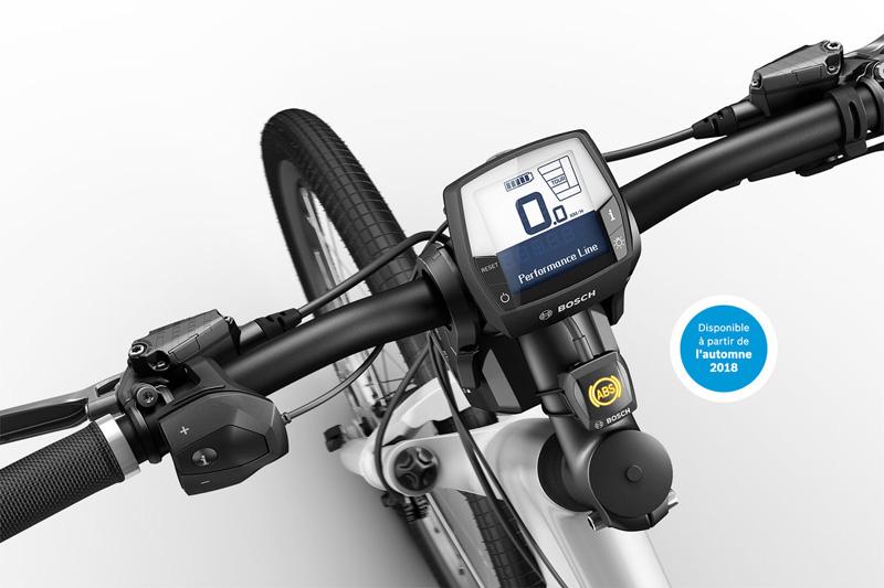 Bosch active ABS pour vélo électrique