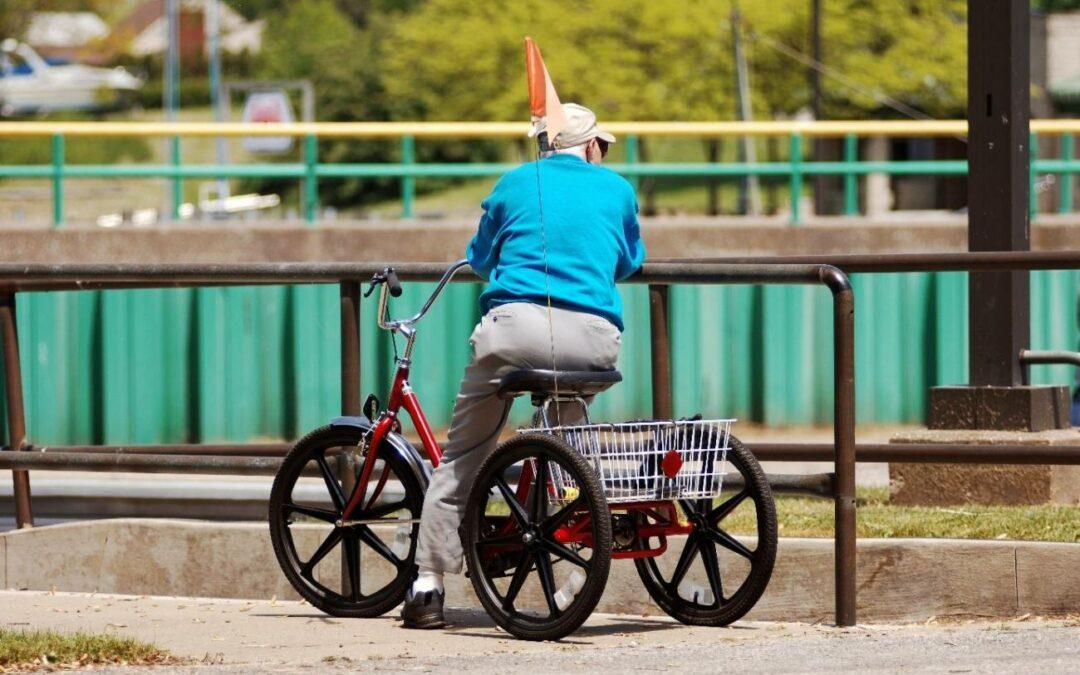 tricycle adulte nouvelle forme d'autonomie mode de transport