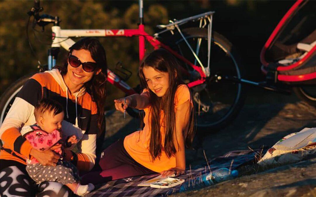 remorque vélo pour enfant