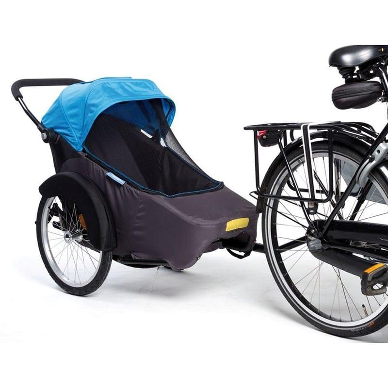 remorque vélo pour transport enfant