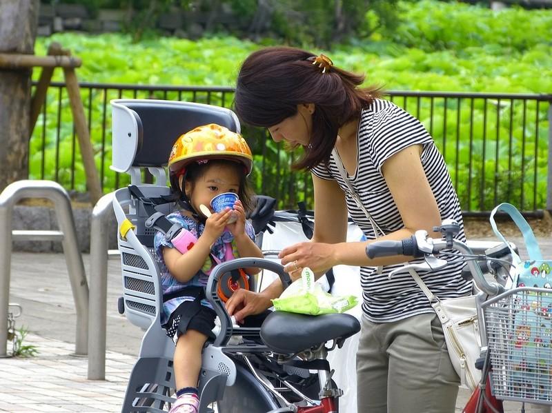 Siège bébé arrière pour vélo