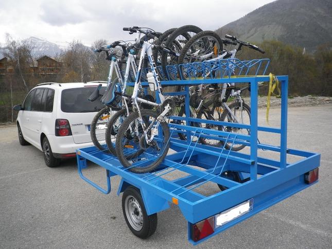remorque porte-vélos