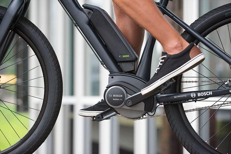 position de batterie vélo