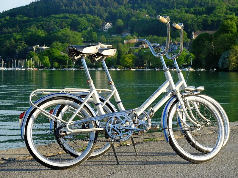 vélo pliant famille