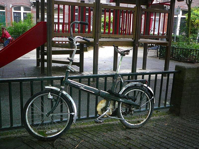 vélo pliant facilité de déplacement