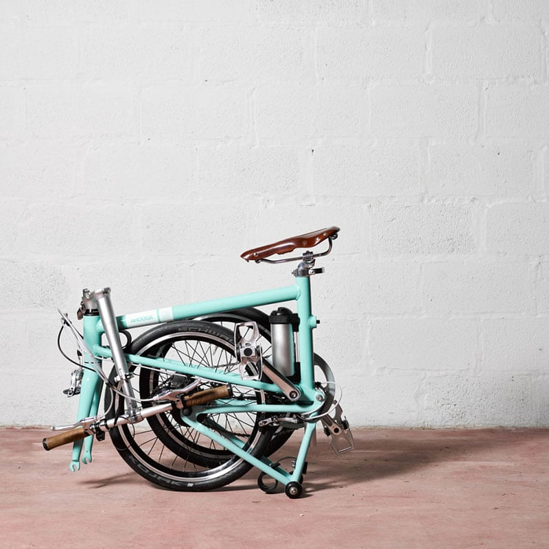 vélo pliant électrique léger Ahooga