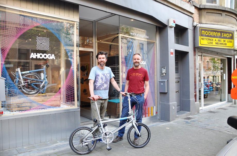 Ahooga : un vélo pliant électrique très léger