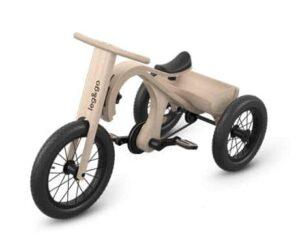 Draisienne évolutive tricycle en bois de bouleau