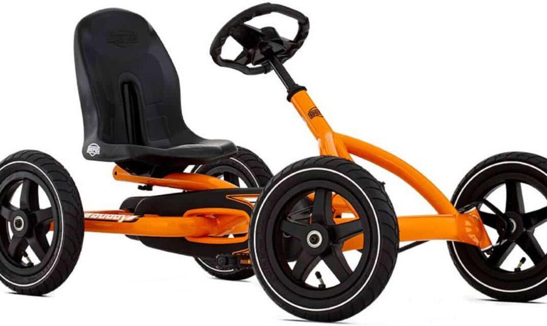 Kart à pédales pour enfant Berg orange
