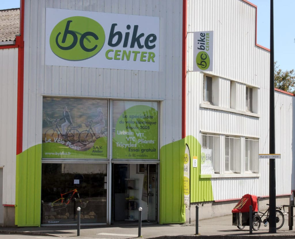 magasin Bike Center à Nantes