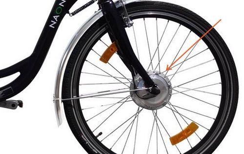velo-electrique-moteur-roue-avant