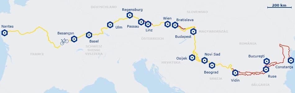 carte euro vélo route 6