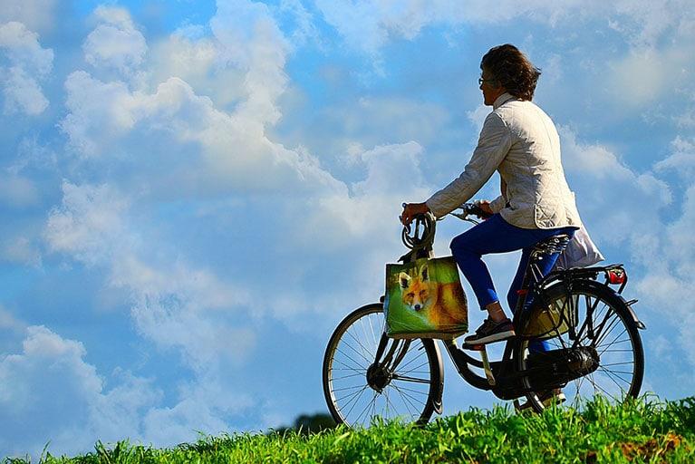 randonée avec vélo électrique