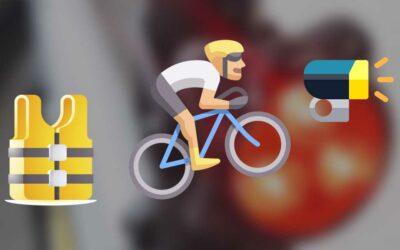 Être visible à vélo : conseils et astuces