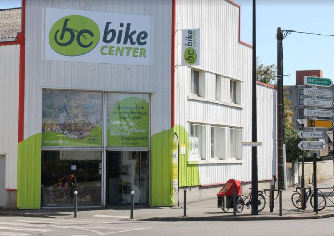 Devanture Magasin Bike Center Nantes - Vélo à assistance électrique